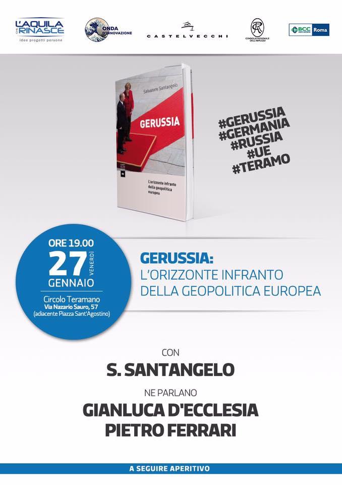 Presentazione di GeRussia (Castelvecchi) a Teramo