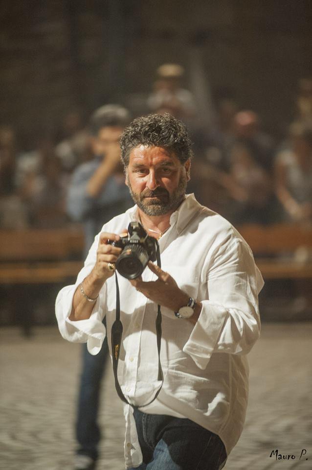 Walter De Berardinis, fotografato dal collega Mauro Piunti