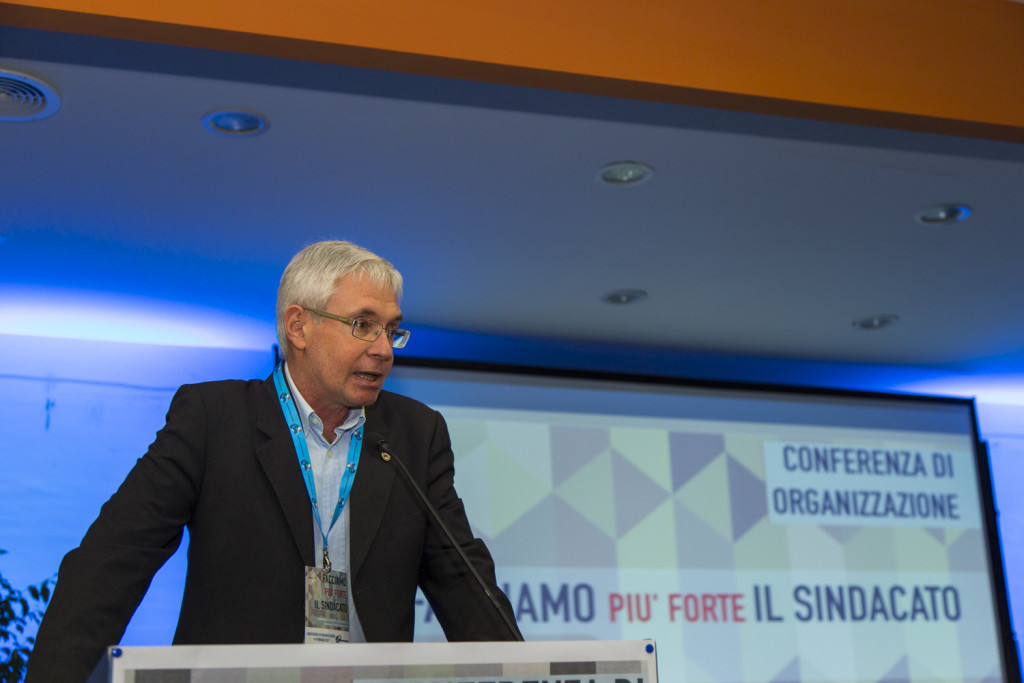 Roberto Campo - Segretario UIL Abruzzo uscente