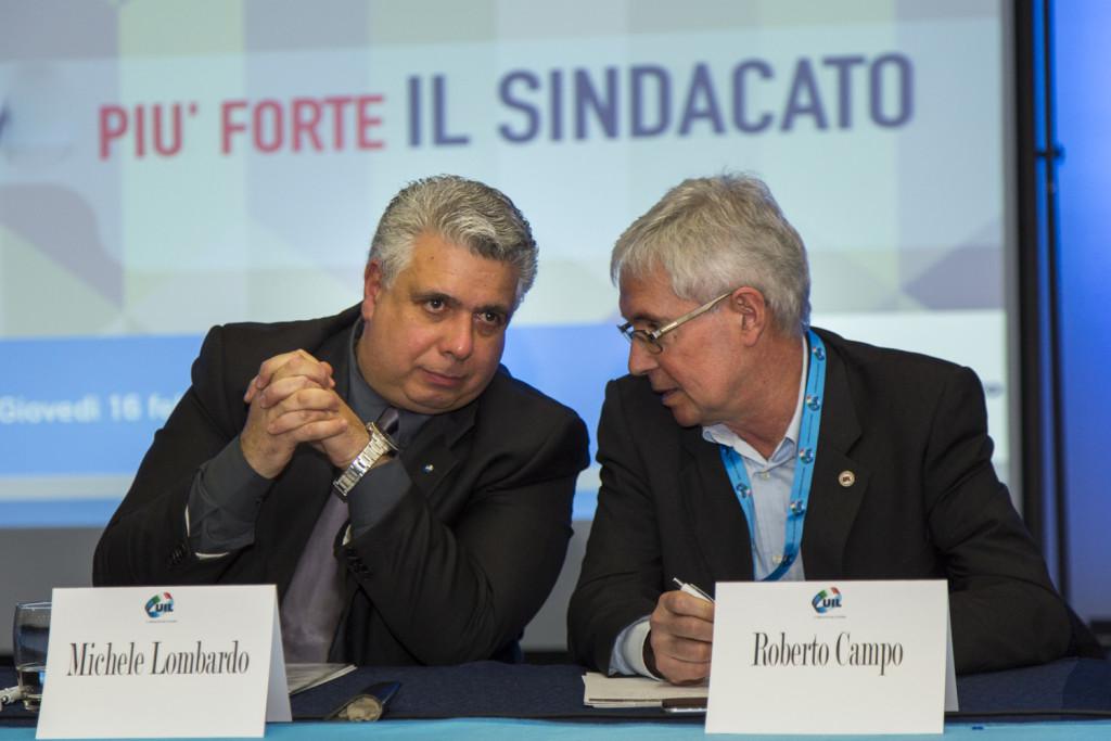 La staffetta: Michele Lombardo e Roberto Campo - UIL Abruzzo