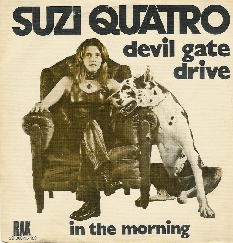 Suzi Quatro, una delle leggende viventi del Rock, è di