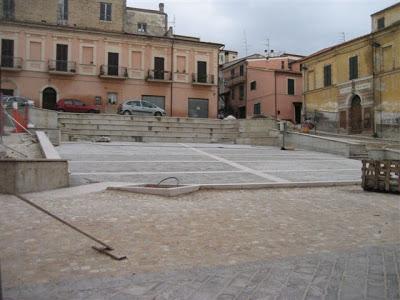 Piazza dove morì il papà di Lino