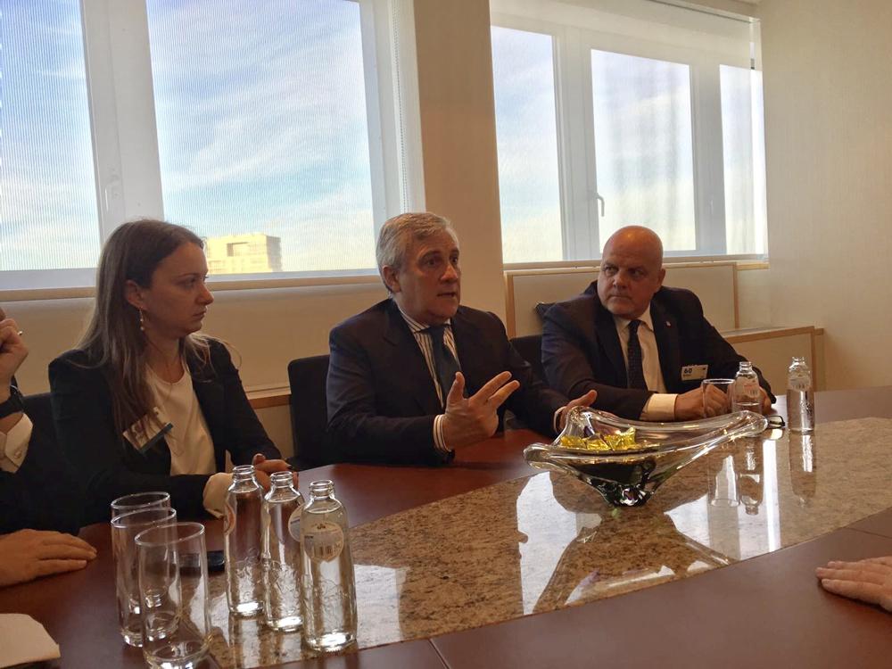 incontro con Tajani