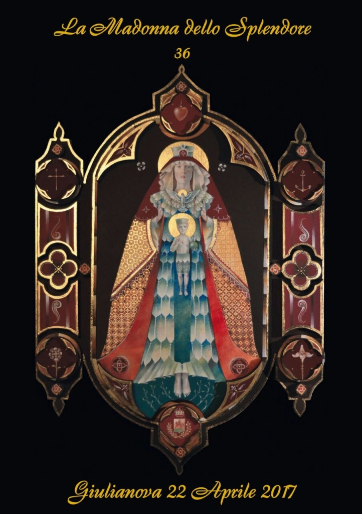 Copertina annuario La Madonna dello Splendore 2017