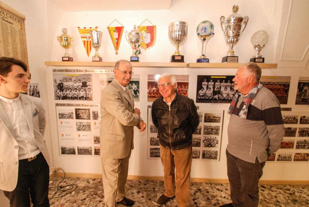 Renato Falcomer riabbraccia Giulianova dopo più di quarant'anni.