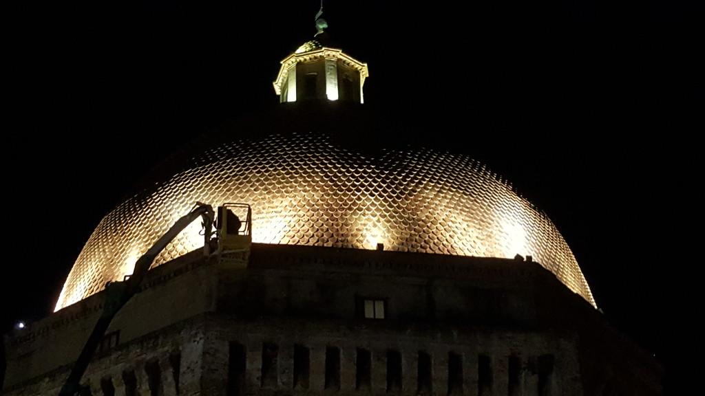 Giulianova. Italia Nostra e Fondazione Tercas ancora insieme per l'illuminazione del  Duomo
