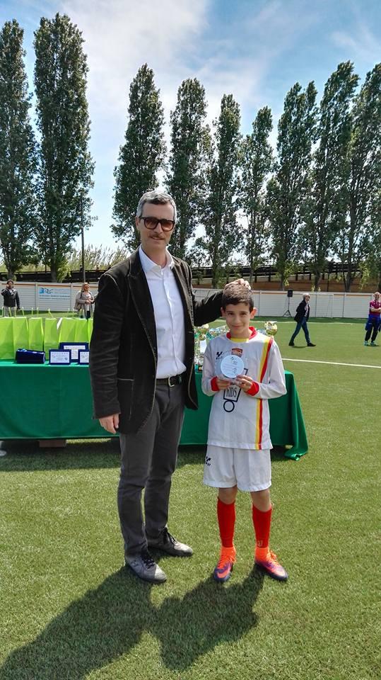 Dario Cerasari e Luca Giorgini miglior giocatore categoria pulcini 2007