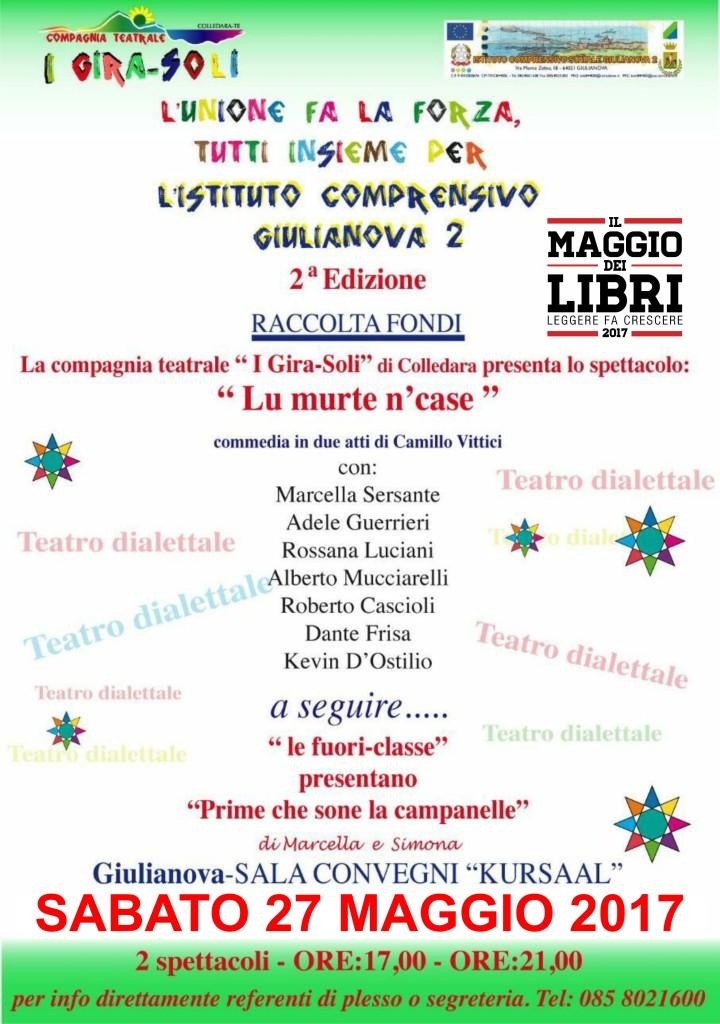 Locandina Teatro 27 Maggio 2017