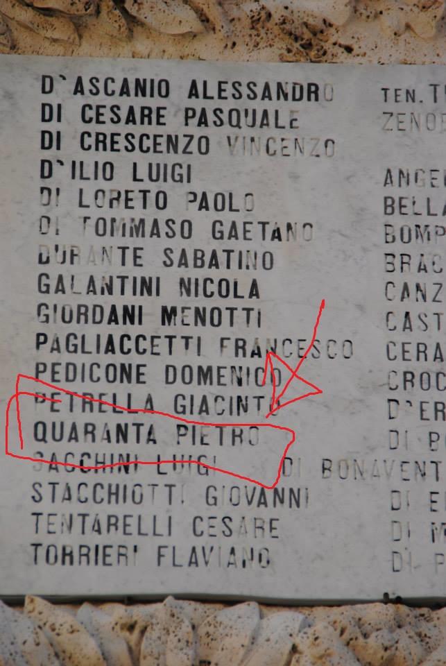 Lapide di C.so Garibaldi - Duomo di San Flaviano