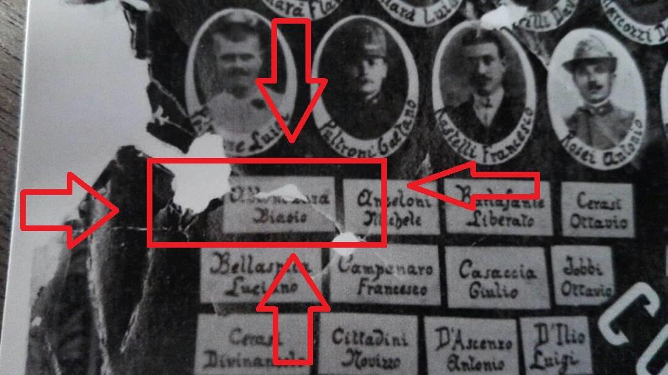 (C) Walter De Berardinis - Foto Ufficiale dei caduti giuliesi