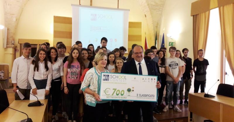 Corepla School Contest. La premiazione con il Sottosegretario Mazzocca