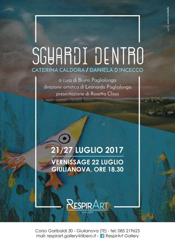"Giulianova. RespirArt Gallery: mostra ""Sguardi dentro"""