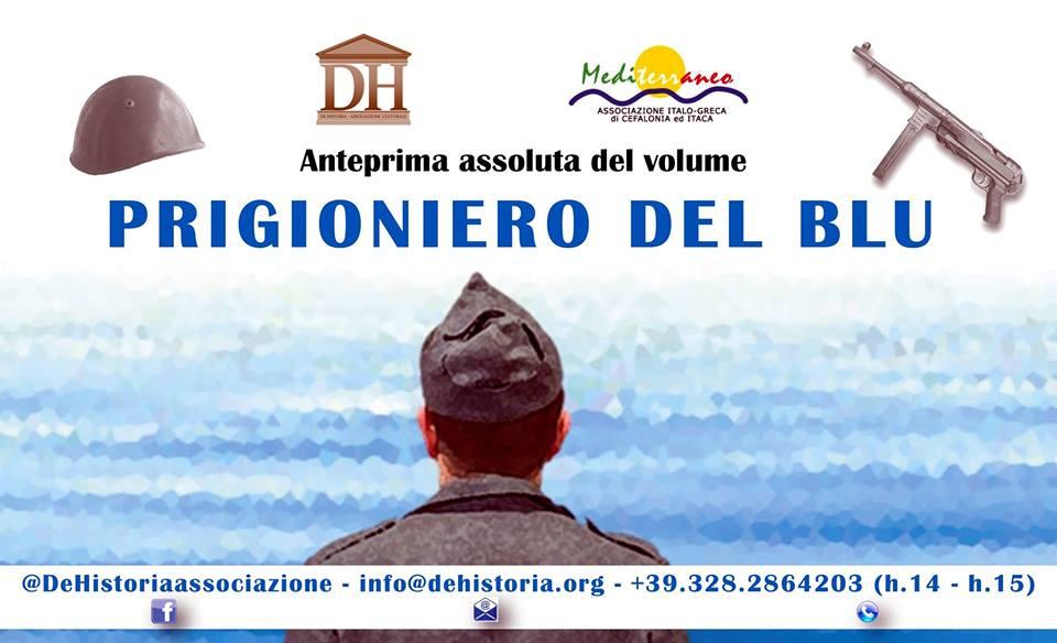 """Argostoli (Grecia). Presentato in anteprima """"PRIGIONIERO DEL BLU"""", di FRANCESCO FAGNANI"""