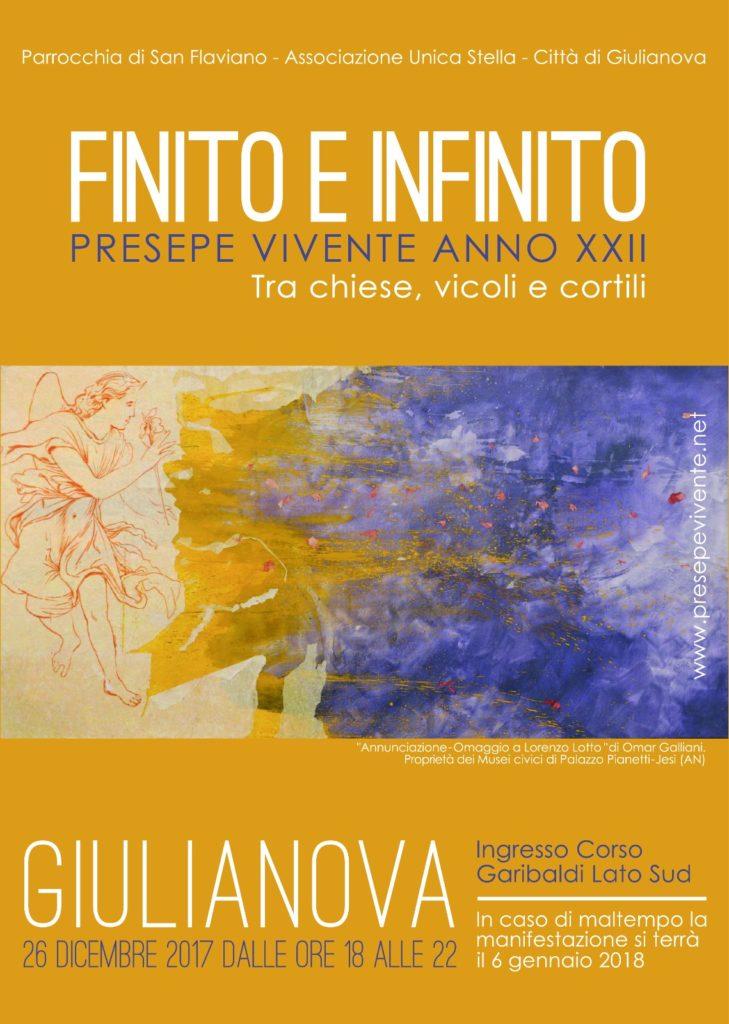 Giulianova. PRESEPE VIVENTE 2017: Finito e Infinito – XXII° edizione