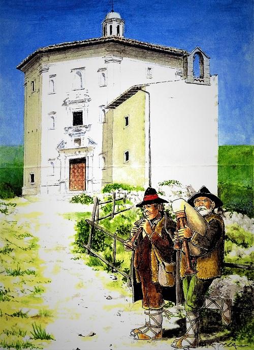GLI ZAMPOGNARI NELLE TRADIZIONI NATALIZIE ITALIANE    Antonio Bini