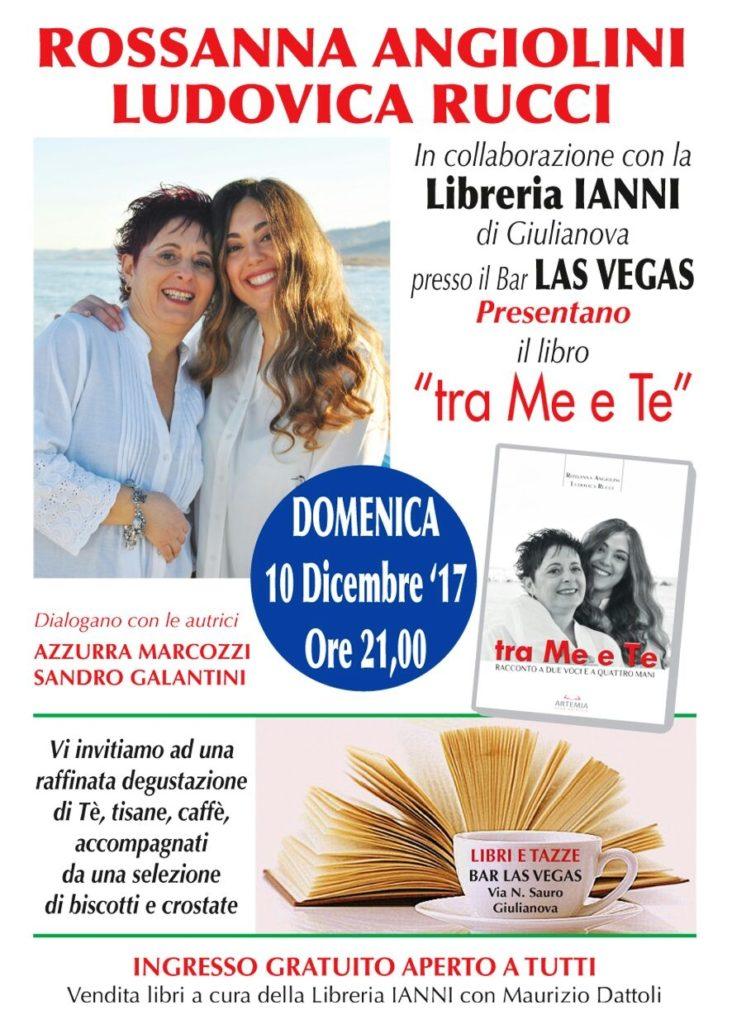 """Giulianova. A """"libri e tazze"""" il nuovo volume di Rossanna Angiolini e Ludovica Rucci."""
