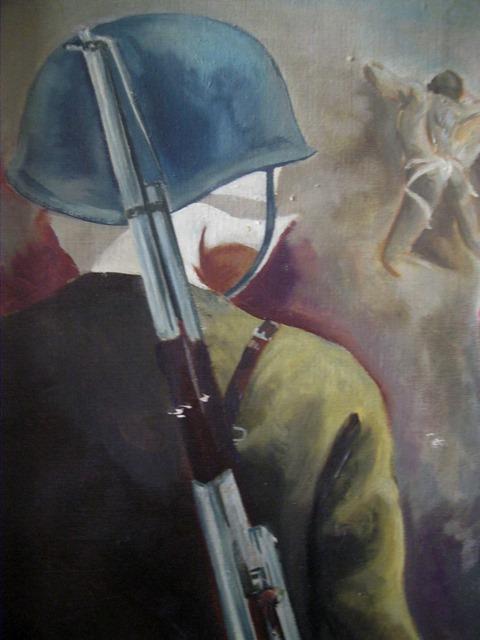 """Giorno della memoria:  Guadagnuolo con la sua arte ricorda  """"Lo sterminio del ghetto ebraico a Warszawa"""""""