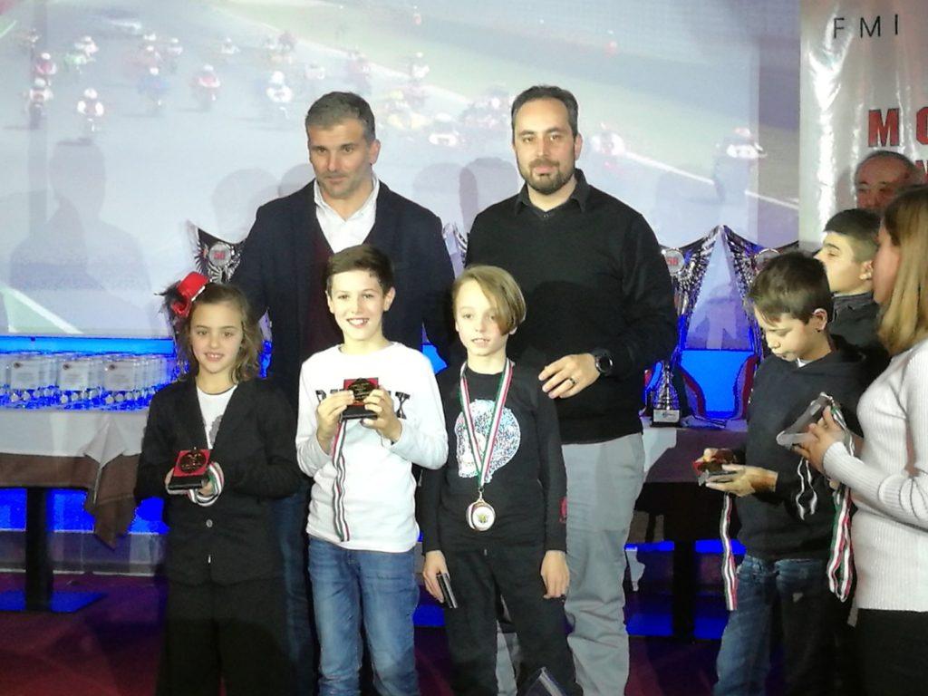Rimini. Il giovane pilota giuliese Emanuele Andrenacci vince la Coppa Italia