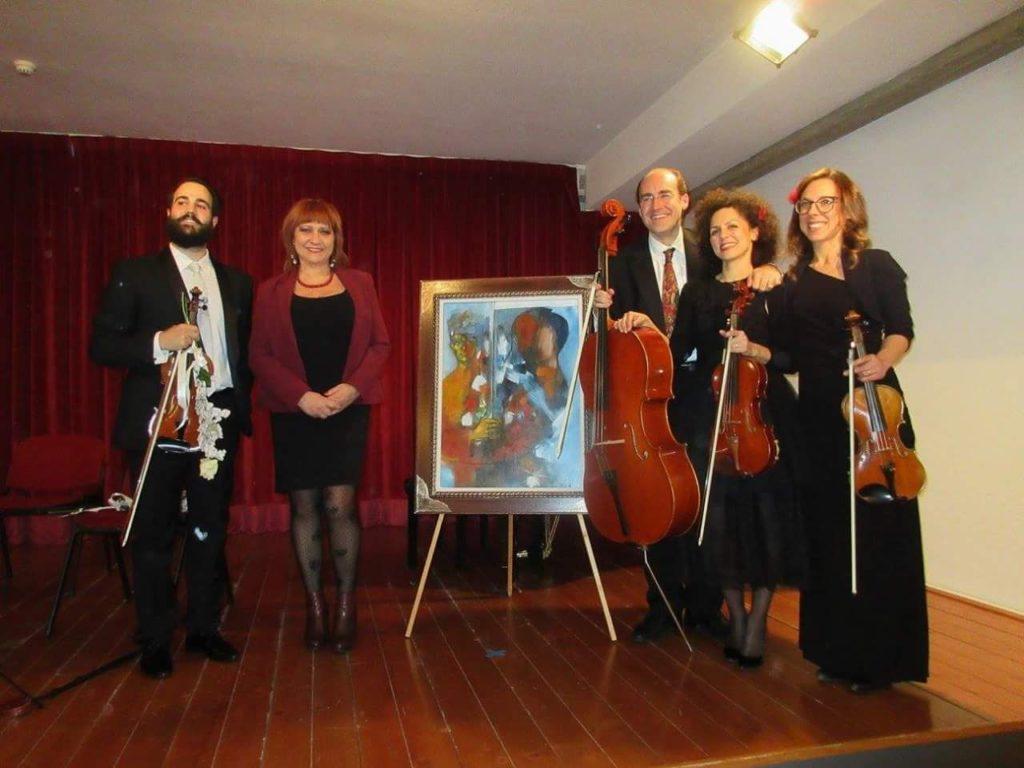 Giulianova. Secondo appuntamento della XV Edizione di Musica e Arte alla Sala Trevisan, inaugurata con grande successo di pubblico lo scorso 16 dicembre.