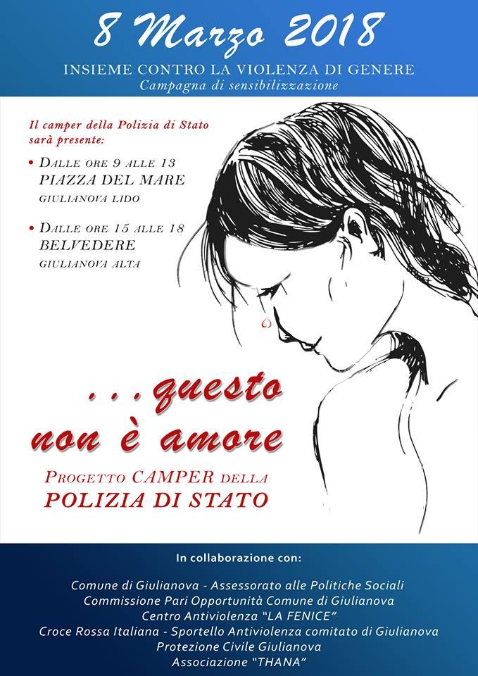 Giulianova. In occasione della Giornata Internazionale della Donna    La Cpo di Giulianova organizza una maratona di quattro giorni dedicata alla sensibilizzazione su tutela, salute e cultura al femminile