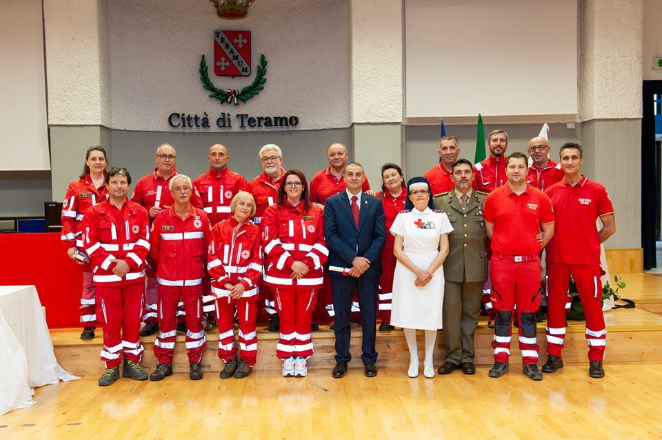 Teramo. CRI: celebrata la settimana Mondiale della Croce Rossa Italiana con la consegna dei diplomi