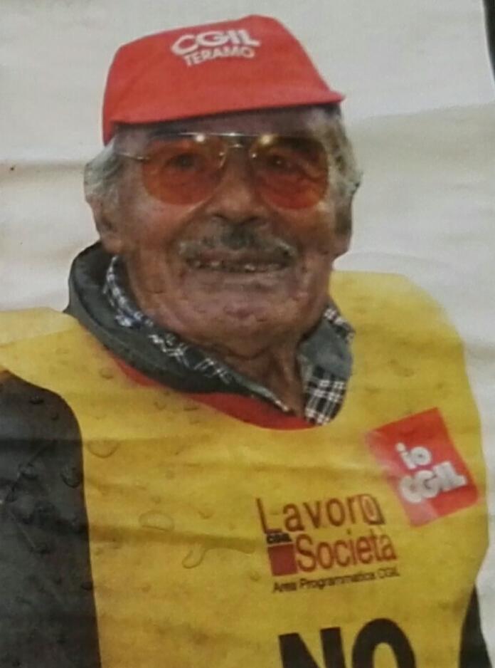 Giulianova. Scompare all'età di 102anni Francesco Di Giosafat, storico militante della sinistra giuliese