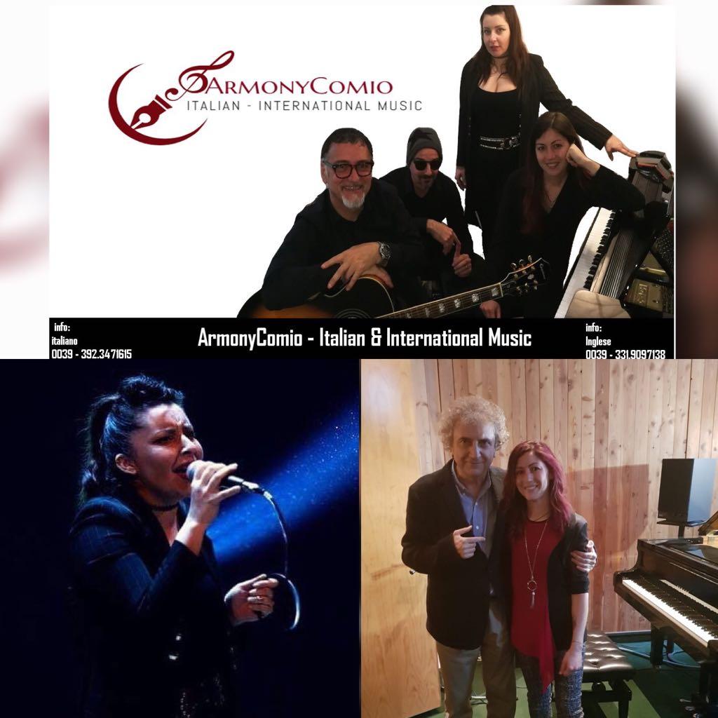 ArmonyComio, gruppo teramano di Nancy Fazzini e Natasha Tancredi, continua il giro nei teatri italiani ed esteri.