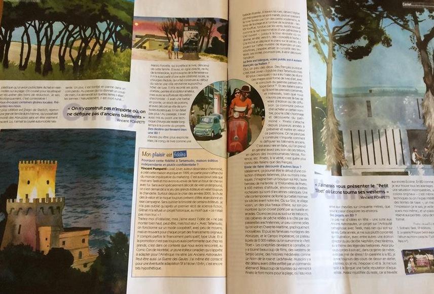 """Pineto su due riviste dedicate al fumetto  Verrocchio: """"Motivo di grande soddisfazione per la nostra città"""""""