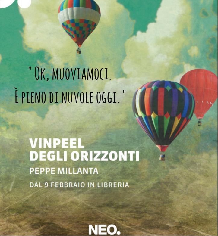 """L'autore abruzzese Peppe Millanta con un libro per tornare a sognare  Il suo romanzo """"Vinpeel degli orizzonti"""" è finalista al Premio John Fante Opera Prima"""
