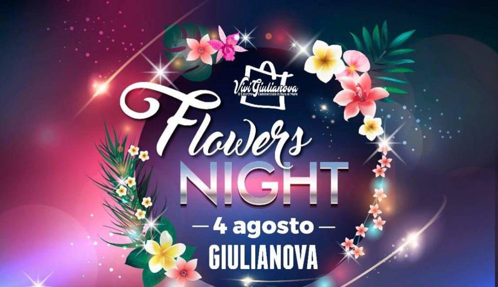 """""""Giulianova Flowers Night, sabato 4 agosto torna la notte dello shopping per le vie del centro"""""""