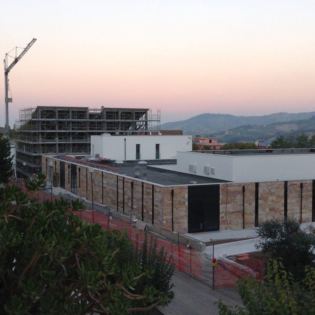Inaugurazione dei locali parrocchiali della costruenda  CHIESA DEL RISORTO  di Colleatterrato Basso