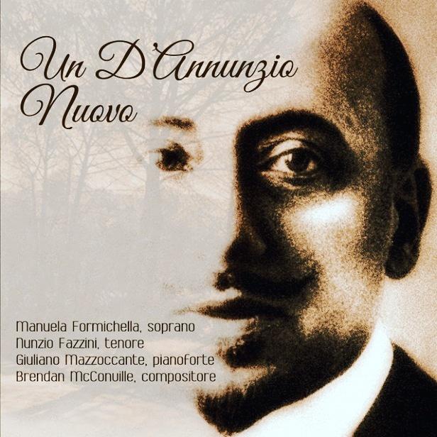 """Giulianova. Anche la """"nostra"""" Manuela Formichella (soprano) nella raccolta di brani """"Un D'Annunzio Nuovo"""" scritti dal compositore americano Brendan McConville."""