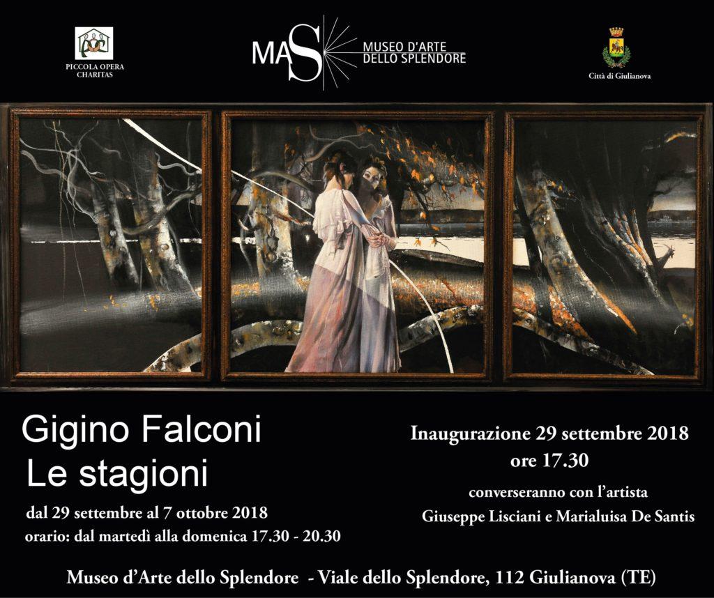 Giulianova. MAS: Le Stagioni, nuova personale del M° Gigino Falconi