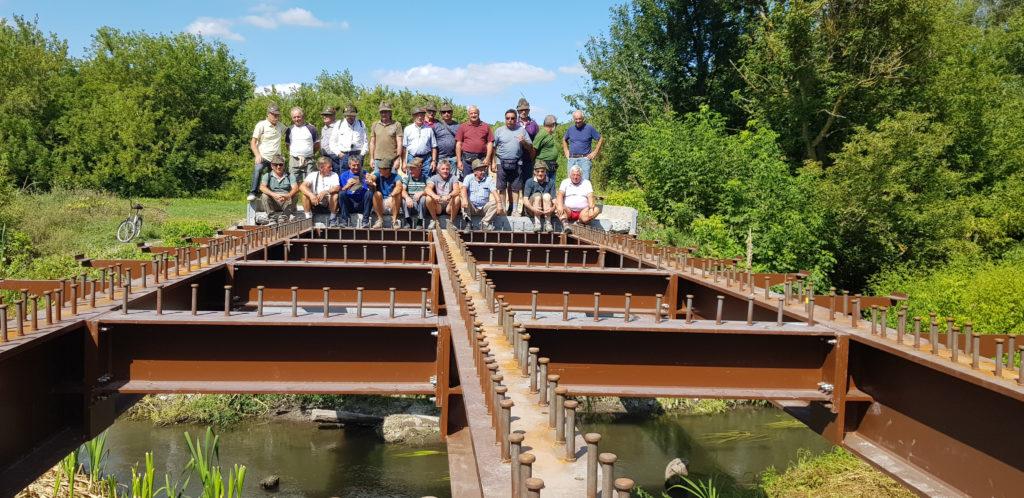 """Lo scorso 14 settembre l'Ana ha inaugurato in Russia il """"Ponte degli Alpini per l'amicizia"""", donato dall'Associazione alla popolazione di Livenka (nome attuale di Nikolajewka)."""