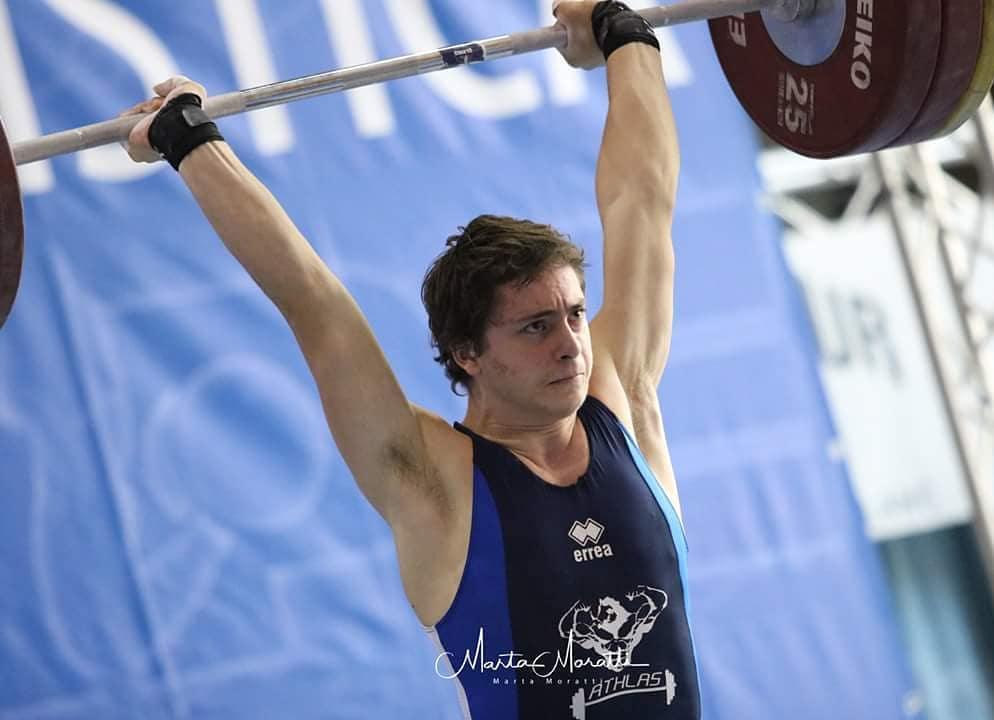 Giulianova. Pesistica Olimpica: ROEL NARCISI STACCA IL PASS PER GLI EUROPEI DI ZAMOSC-POLONIA