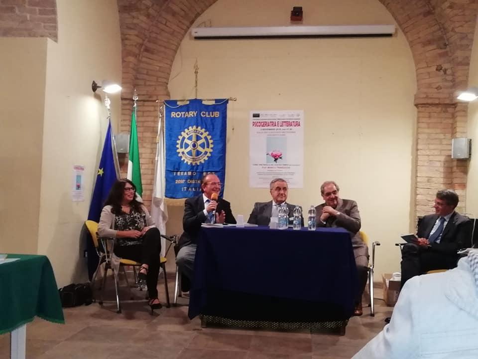 Giulianova. Successo per il Simposio PSICOGERIATRIA E LETTERATURA del CLUB ROTARY TERAMO EST DISTRETTO 2090 e dell'Associazione AGAPE CAFFÈ LETTERARI D'ITALIA E D'EUROPA