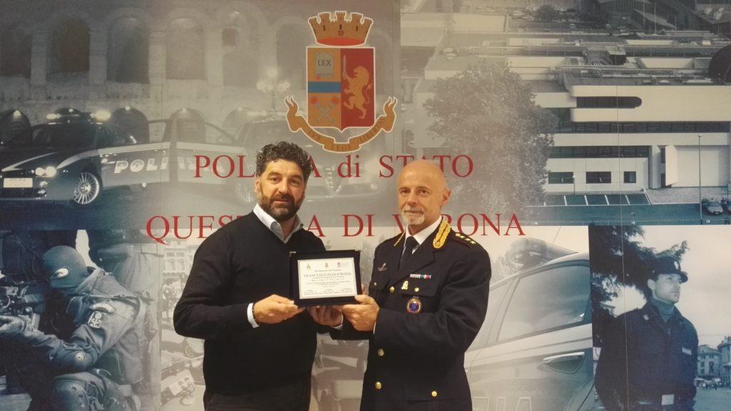 """I.N.G.O.R.T.P. di Teramo regala la riproduzione della targa dedicata a """"Francesco Paolo Rossi"""""""
