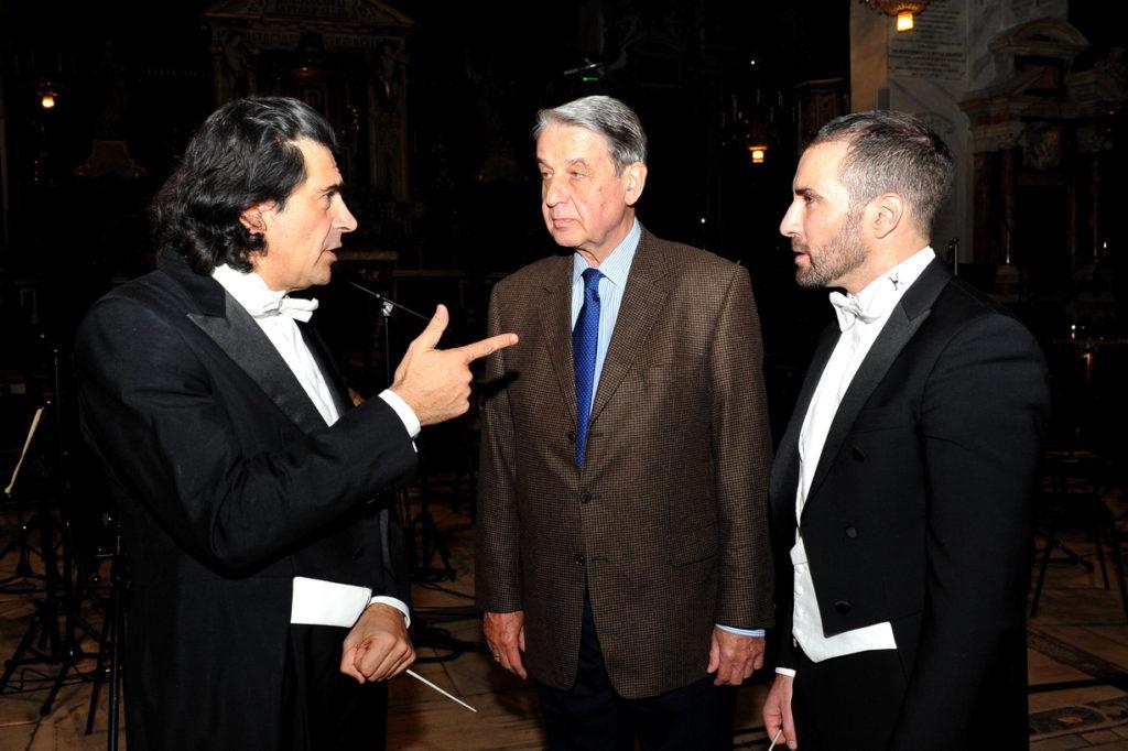 Jacopo Sipari e L'Orchestra Sinfonica Abruzzese in Tv la sera dell'Epifania  con il Concerto di Sacrum Festival