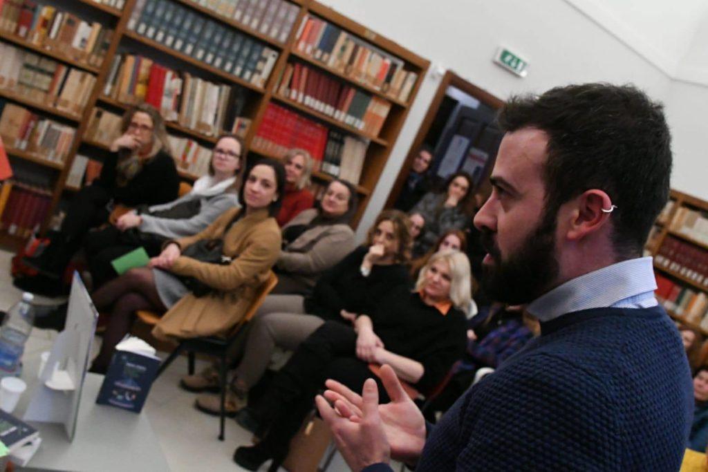 Arts Academy Giulianova: grande soddisfazione per l'incontro con lo scrittoreFabio Stassi