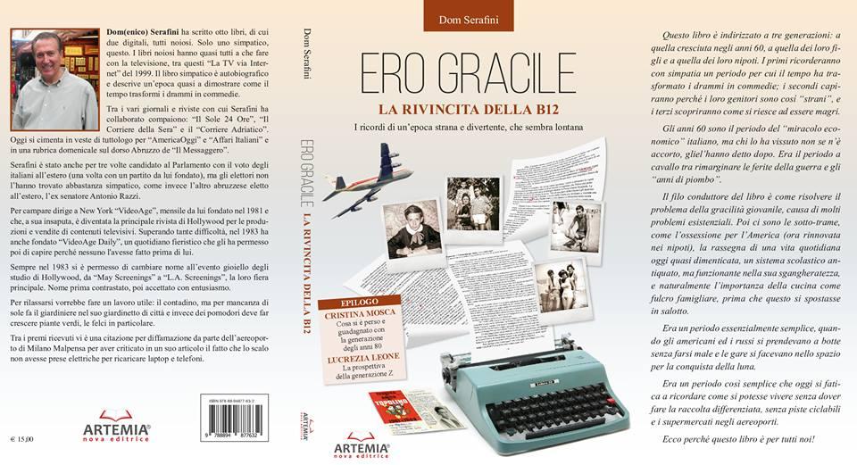 """Giulianova. """"Ero gracile: la rivincita delle B12"""", ultimo libro autobiografico del giuliese Dom Serafini"""