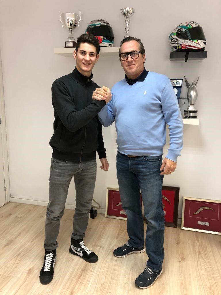 Matteo Ciprietti correrà nel CEV Moto2. Arriva l'annuncio della firma con il Team Stylobike per la stagione 2019 nel Campionato Europeo.