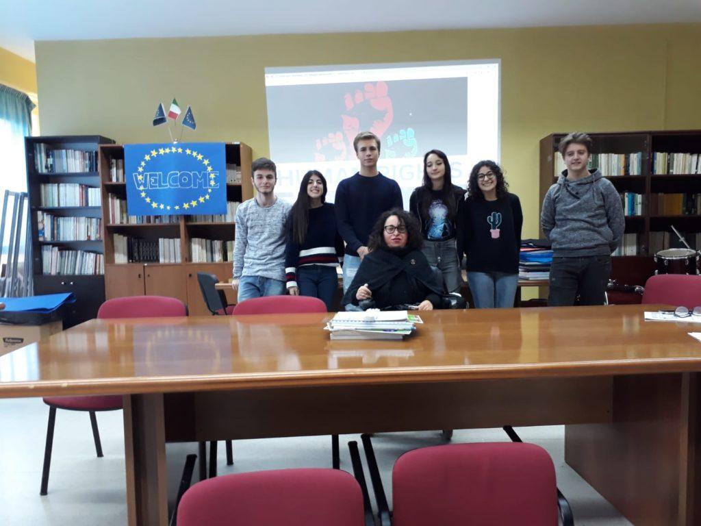 Giulianova. II edizione delle Olimpiadi dei Diritti Umani c/o Liceo Curie