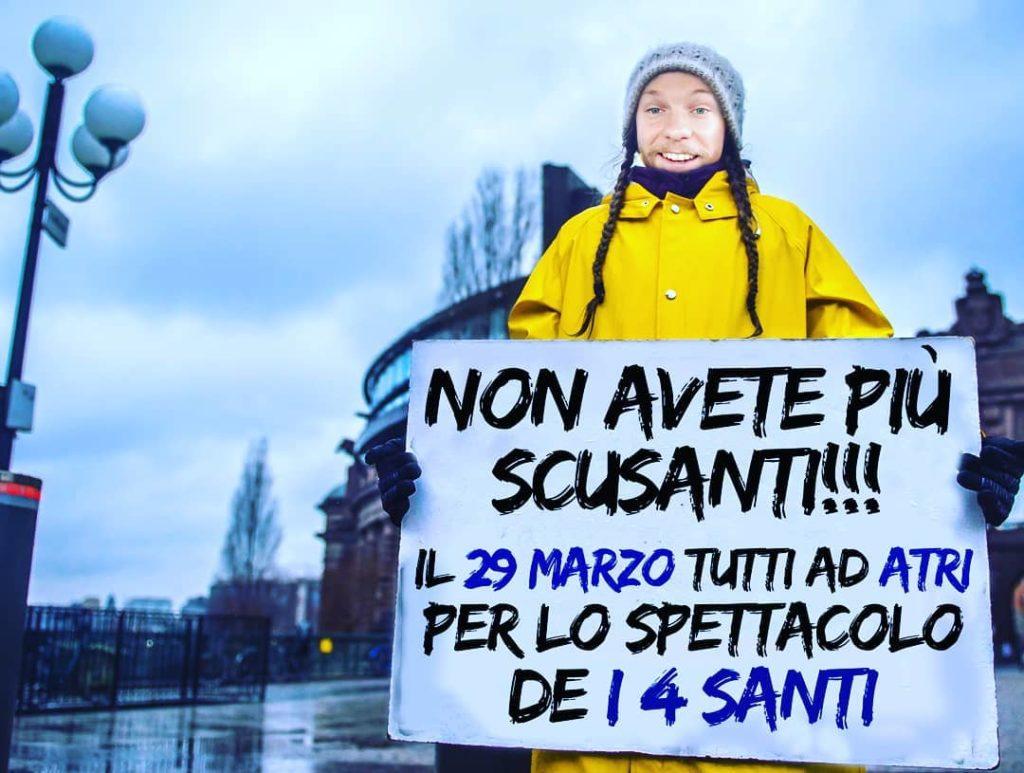 Atri. I 4 Santi, spettacolo il 29 marzo per sostenere la Lega Italiana Fibrosi Cistica Abruzzo