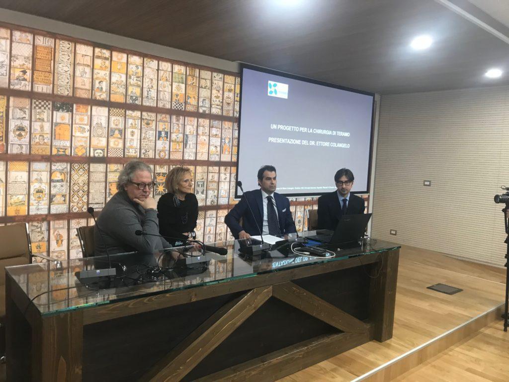 La ASL presenta il Dr. Ettore Colangelo, Direttore della Chirurgia Generale dell'Ospedale di Teramo