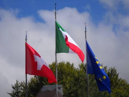 """""""La bandiera Svizzera al Sacrario Nazionale Mauriziano d'Italia"""""""