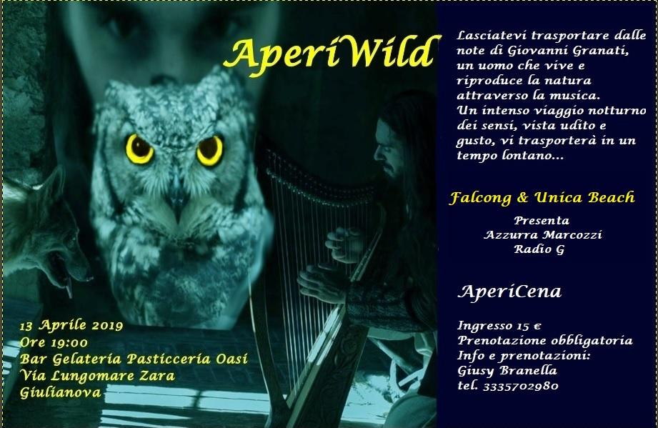 Giulianova. Sabato 13 aprile arriva l'AperiWild tra note e magia della natura
