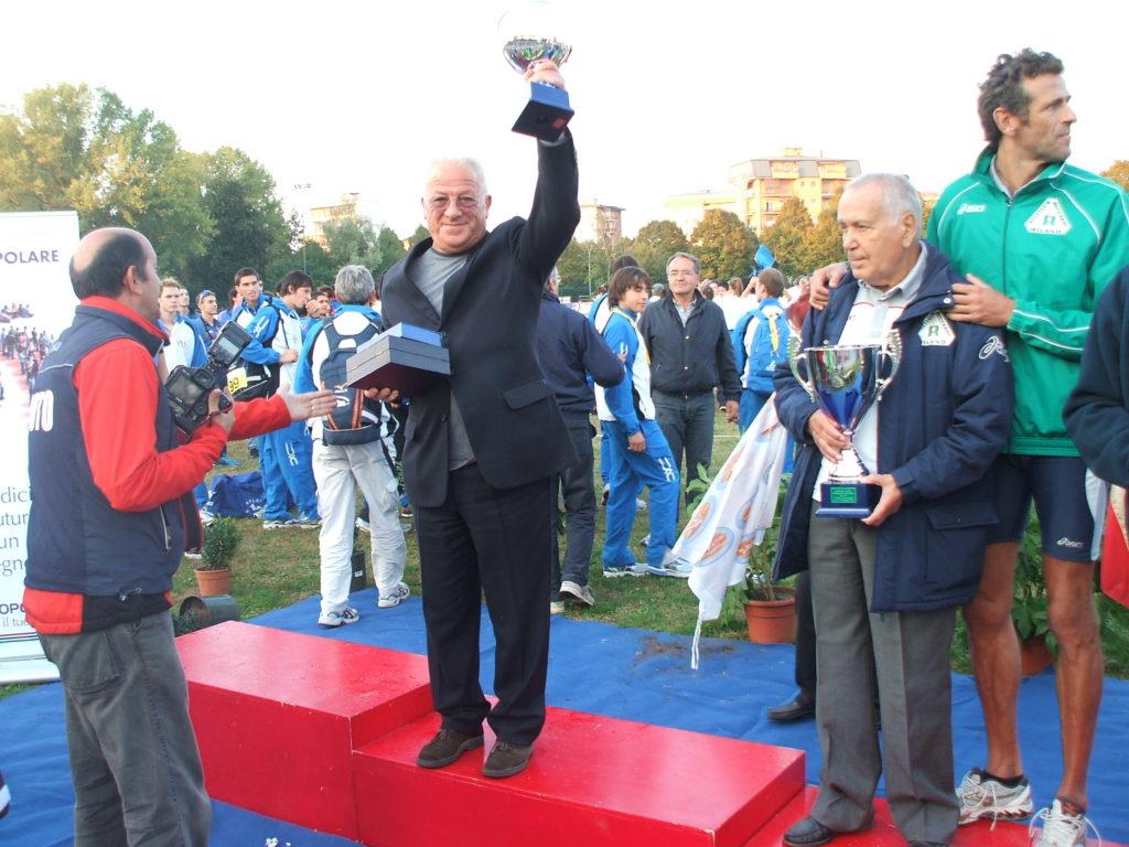 Atletica Vomano. Ferruccio D'Ambrosio festeggia 30 anni di successi