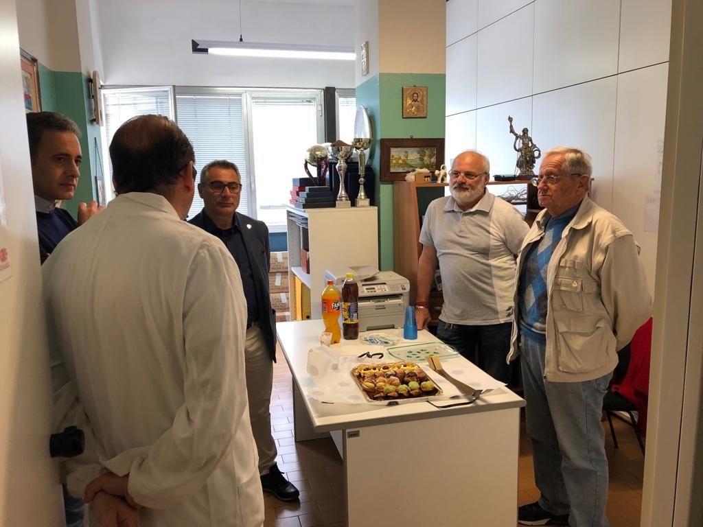 Teramo. Il vicepresidente nazionale della FIDAS Pierfancesco Cogliandro visita le federate abruzzesi