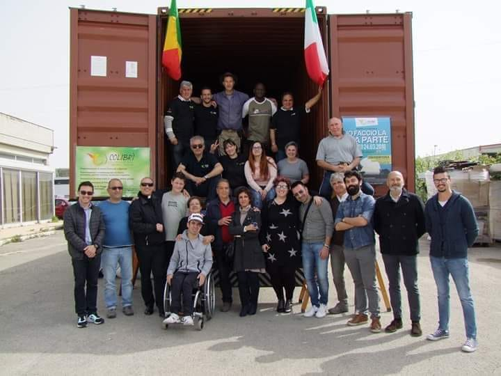 Giulianova. Mercoledì 8 maggio si procederà con il carico del quinto container di aiuti umanitari per Sindia