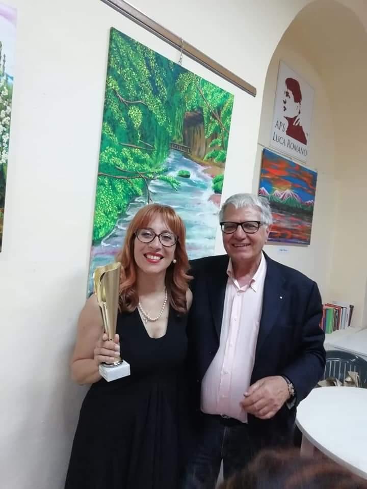 """Chieti. Primo posto per la giuliese Sara Palladini al Premio letterario """"Luca Romano"""""""